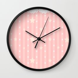 ChibiUsa Print Wall Clock