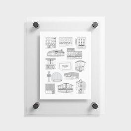 Casse-croûtes légendaires montréalais / Montreal Delis + Floating Acrylic Print