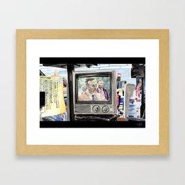 George Herbert Walker Bush Framed Art Print