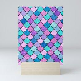 Sparkle Scales Mini Art Print