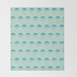 Umbrella Falls Throw Blanket