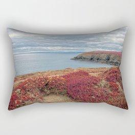 Irish Pomegranate Coast Rectangular Pillow