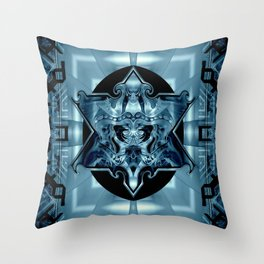 Blue Star Law* Throw Pillow