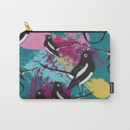 Magpie splash Carry-All Pouch
