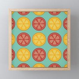 Juicy Citrus Framed Mini Art Print