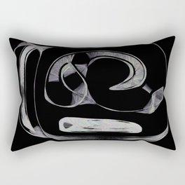 Abstract artifact Rectangular Pillow