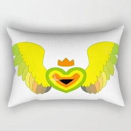 Aromantic Heart Rectangular Pillow