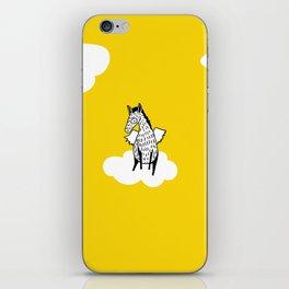 Flying Pony by Amanda Jones iPhone Skin