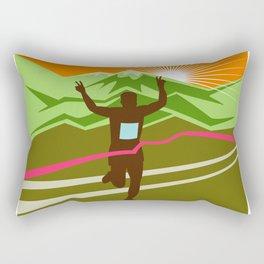 Marathon Race Finisher Rectangular Pillow