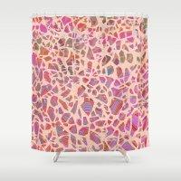 Graphic Terrazzo II Shower Curtain