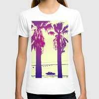 palms T-shirts featuring Palms by Giuseppe Cristiano