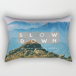 Great heights Rectangular Pillow