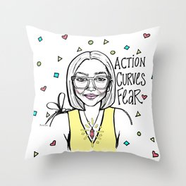 #STUKGIRL TIONA Throw Pillow