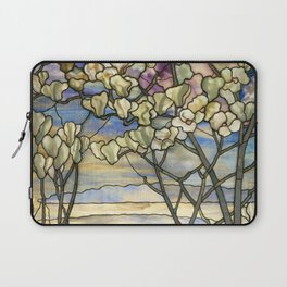Louis Comfort Tiffany - Decorative stained glass 5. Laptop Sleeve