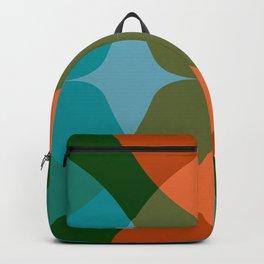 Modern Groove - Biscay Green Backpack