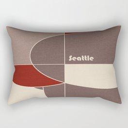 Seattle Mosaic Rectangular Pillow