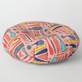 Exclamations Pattern Floor Pillow