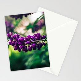 Purple Gardens - Print Stationery Cards