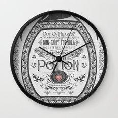Legend of Zelda Red Chu Potion Advertisement Wall Clock