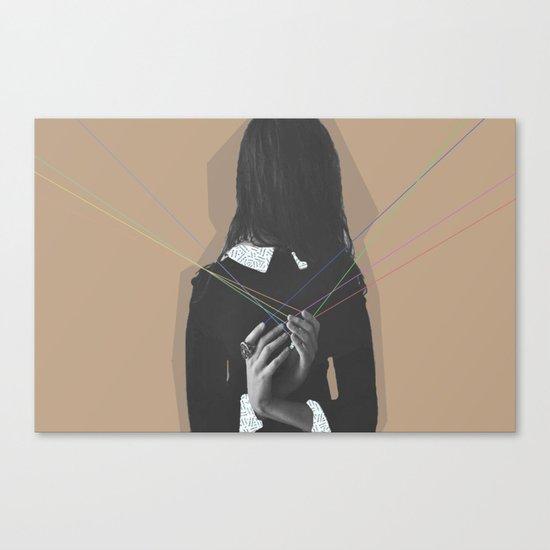 Back Canvas Print