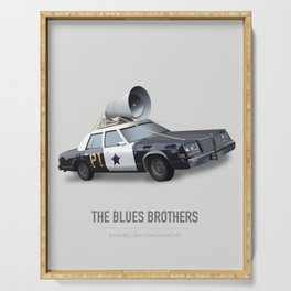 The Blues Brothers - Alternative Movie Poster Serving Tray