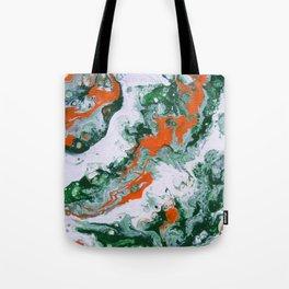 Carnival Squash Abstract Tote Bag