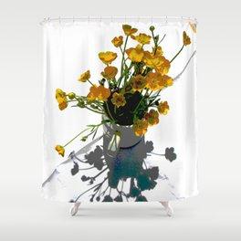 BUTTERCUPS Shower Curtain