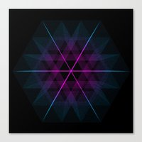 geode Canvas Prints featuring Geode by Matt Borchert