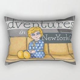Mrs. Beasley's Adventures Rectangular Pillow
