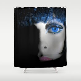 """""""THE PASSERBY"""" Shower Curtain"""