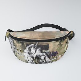 Mystical Vintage Visions of Manhattan Fanny Pack