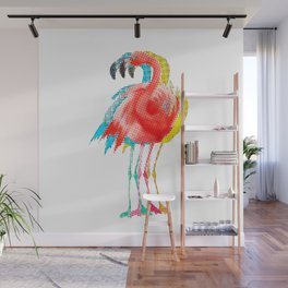 Flamingo PoP Wall Mural
