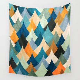 Eccentric Peaks Wall Tapestry
