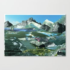 Experiment am Berg 19 Canvas Print