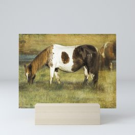 Pony with Copper Mane - Chincoteague Pony Mini Art Print