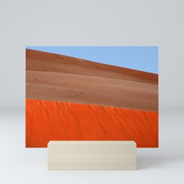 Sand Dunes Sahara Desert Landscape 01 Mini Art Print