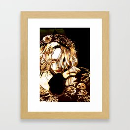 """Milk & Honey"" Framed Art Print"