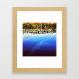 Cardiff Bay Wetlands Framed Art Print