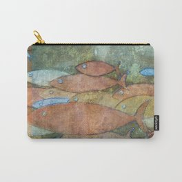 Fishes in the ocean Carry-All Pouch