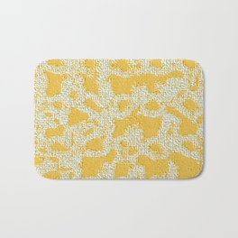 Applique Embossed On Net Bath Mat