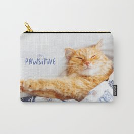 Stay pawsitive! Carry-All Pouch