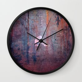 Disappointed Wall Clock
