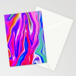 Neon Light Stationery Cards