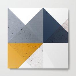 Modern Geometric 19/2 Metal Print