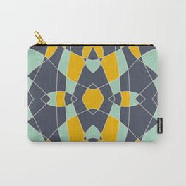 Abstrace Retro Colored Mandala Carry-All Pouch