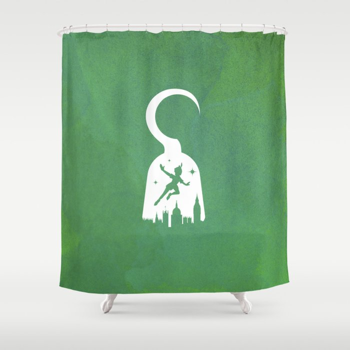 Peter Pan Shower Curtain
