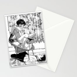 asc 518 - L'immobilisation (The entrapment) Stationery Cards