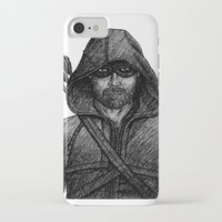 green arrow iPhone & iPod Cases featuring Arrow by Jack Kershaw