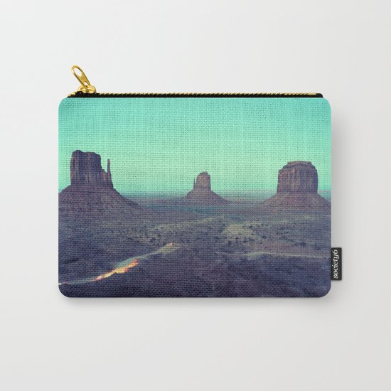 monument valley 5 Carry-All Pouch