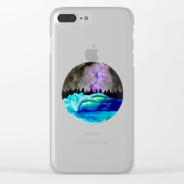 Universe Light Clear iPhone Case